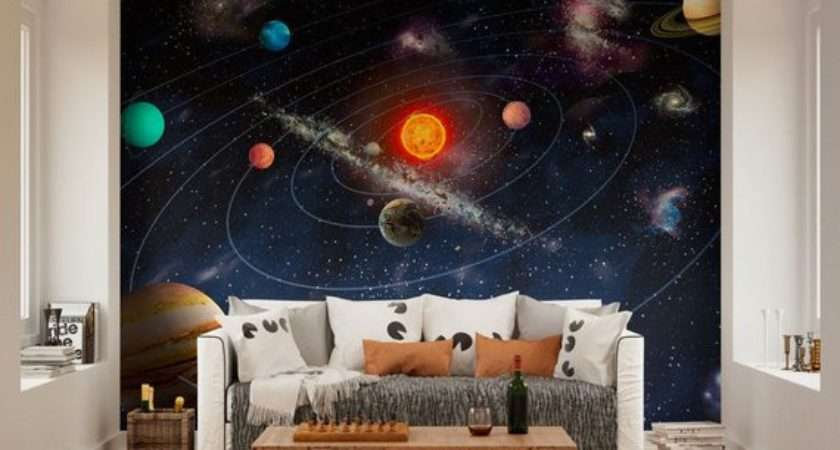 Wall Murals Planets Solar System Space