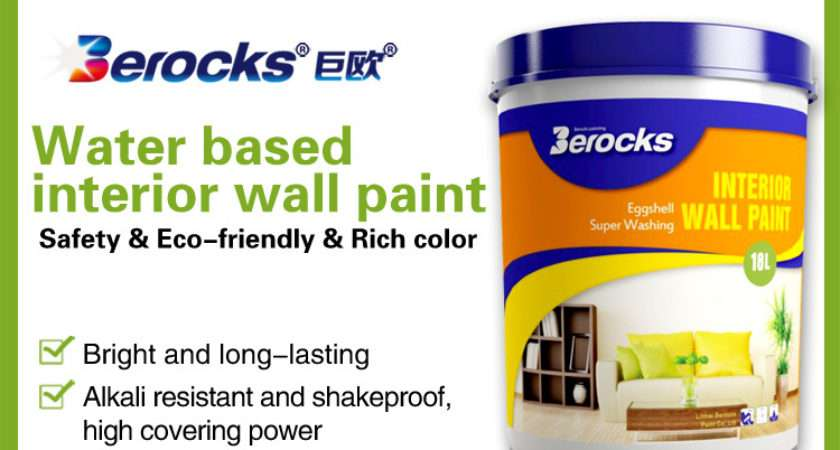 Wall Paint Filler Water Based Latex Interior