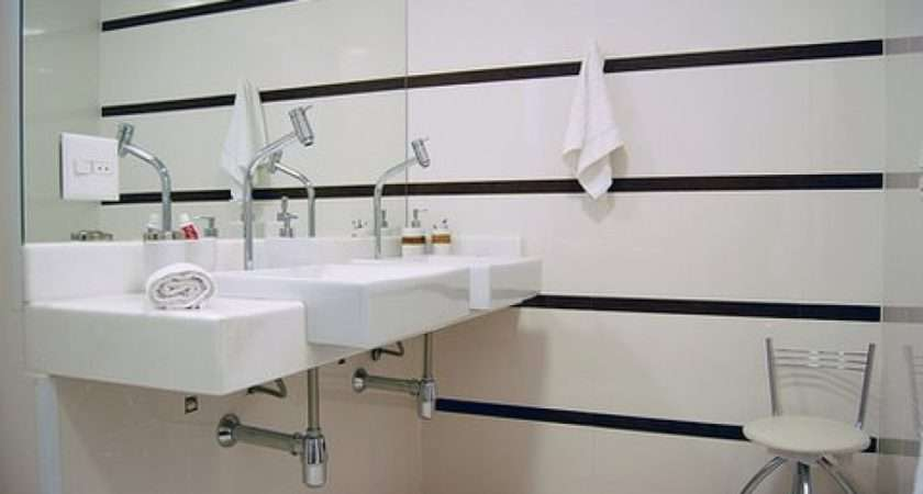 Wall Paneling Bathroom White Small Sink