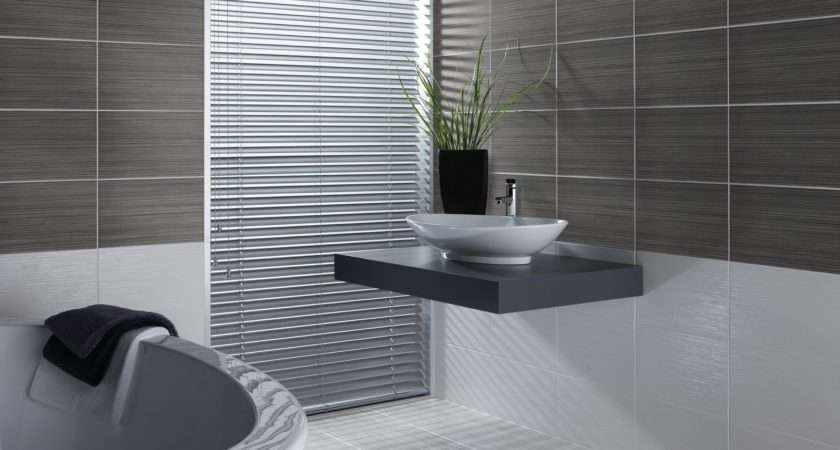 Wall Tile Bathrooms Grasscloth