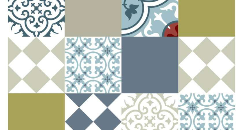 Wall Tile Stickers Vanill