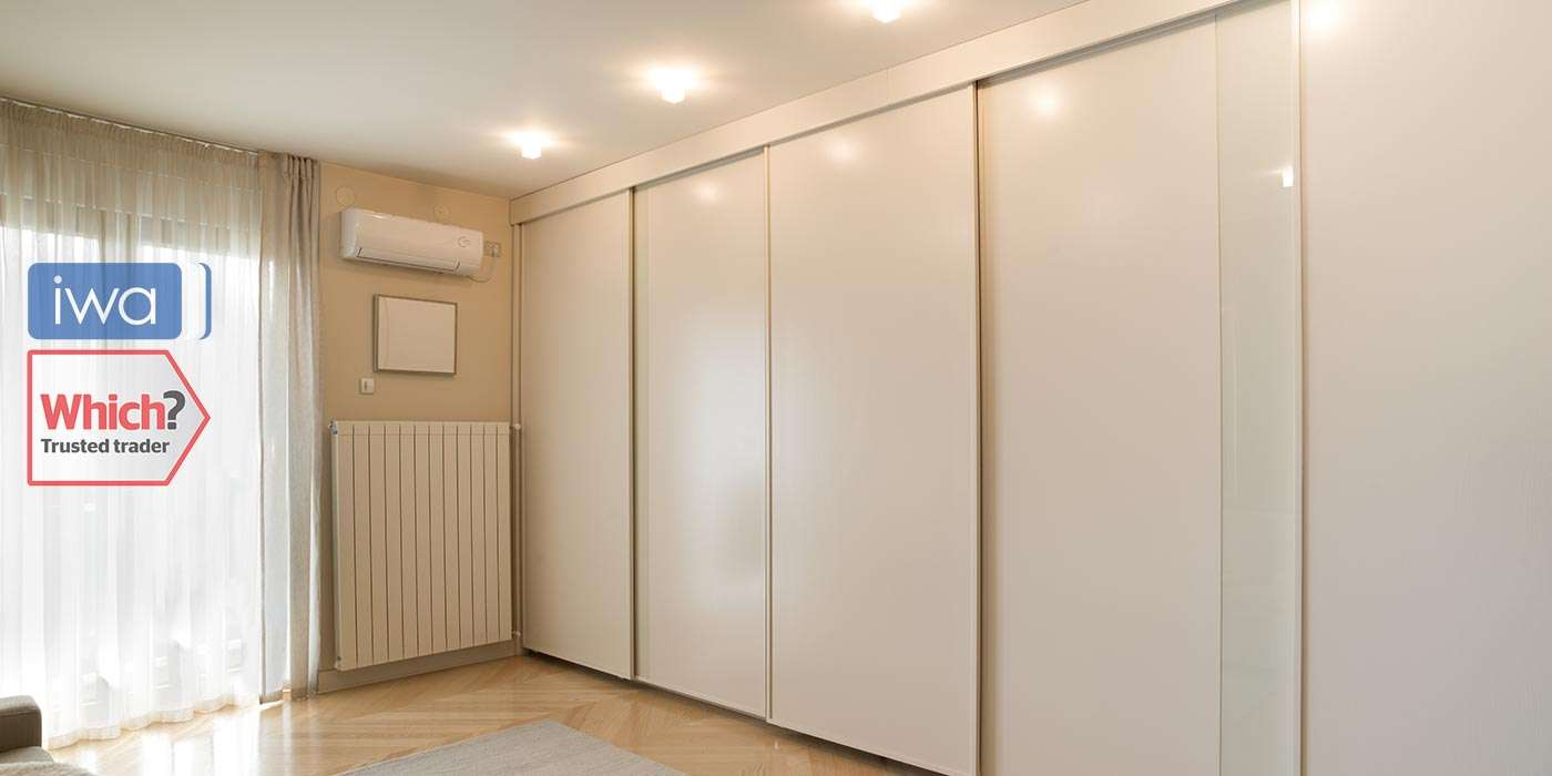Wardrobe Fitted Angled Double Bedroom Sliding