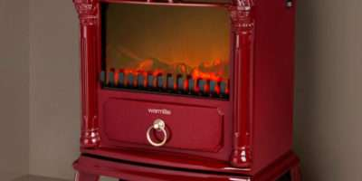 Warmlite Single Electric Stove Fire Red Iwoot