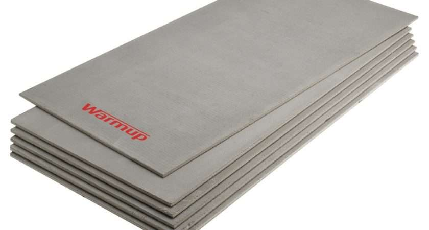 Warmup Electric Underfloor Heating Insulation Boards