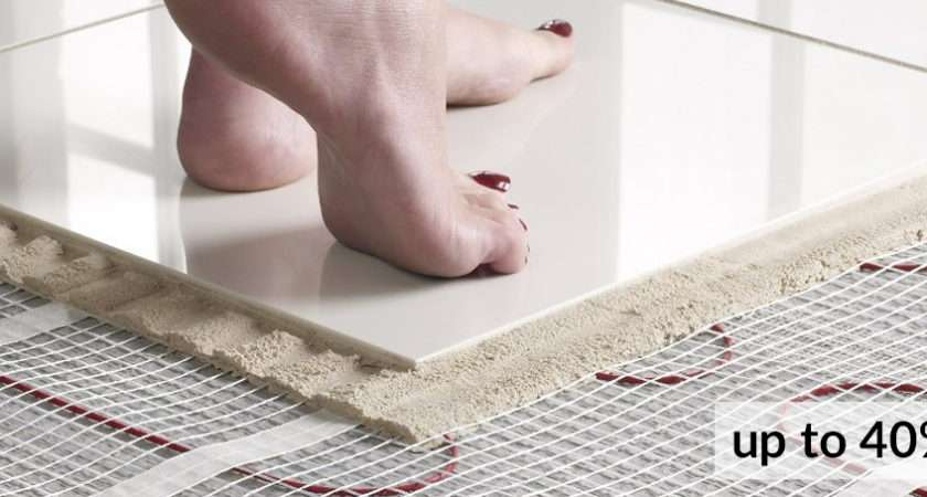 Warmup Underfloor Heating Insulation Crown Tiles
