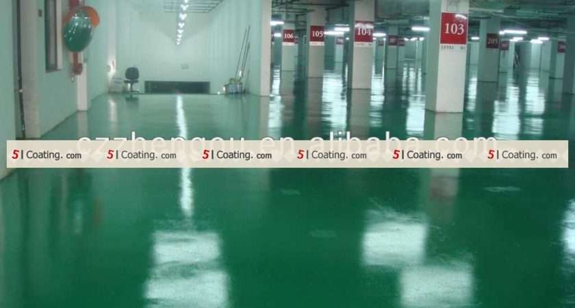 Water Based Epoxy Floor Paint Products