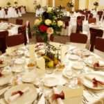 Wedding Party Table Decoration Photograph