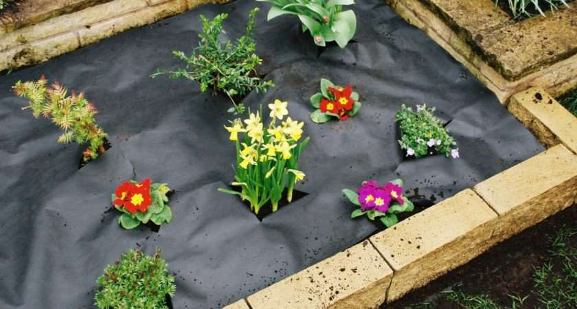 Weed Control Fabric Membrane Ground Sheet Cover