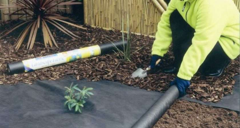 Weed Control Fabrics Rolls Flexible Strong Material