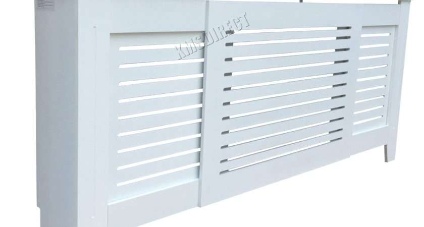Westwood White Painted Radiator Cover Wall Cabinet Wood