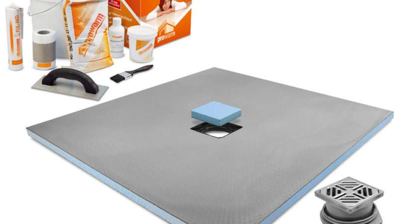 Wet Room Shower Tray Kit All Sizes Listing
