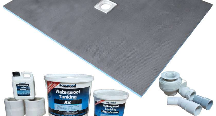 Wet Room Wetroom Shower Tray Kit All Sizes Available