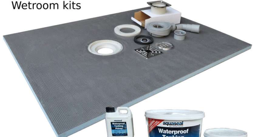 Wet Room Wetroom Shower Tray Kit Various Sizes