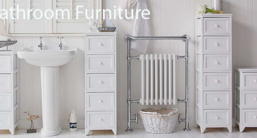 White Bathroom Cabinets Storage Furniture