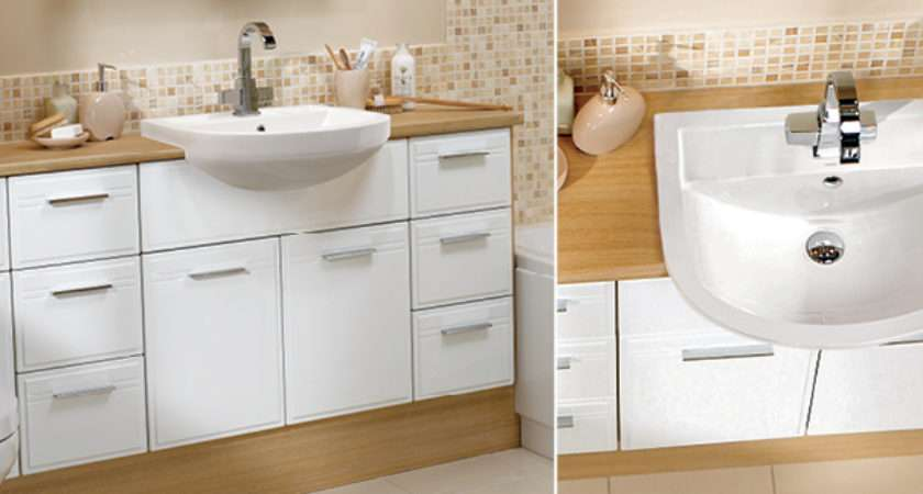 White Bathroom Furniture Brilliant