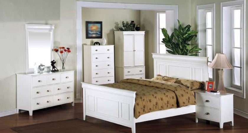 White Bedroom Furniture Provides Unbeatable Grace