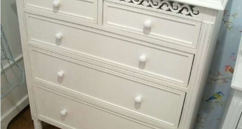 White Chest Drawers High Gloss Drawer