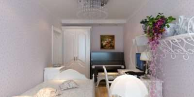 White Furniture Small Bedroom House