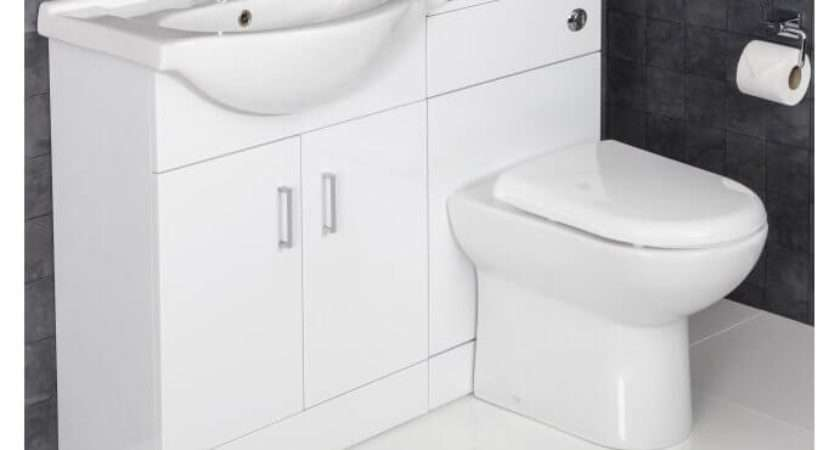 White Gloss Bathroom Furniture Plumbworld