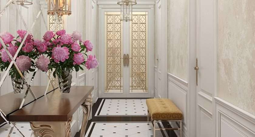 White Hallway Design Ideas Olga