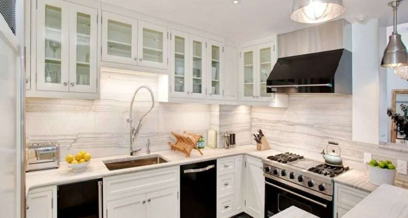 White Kitchen Cabinets Black Appliances Decor Ideasdecor Ideas