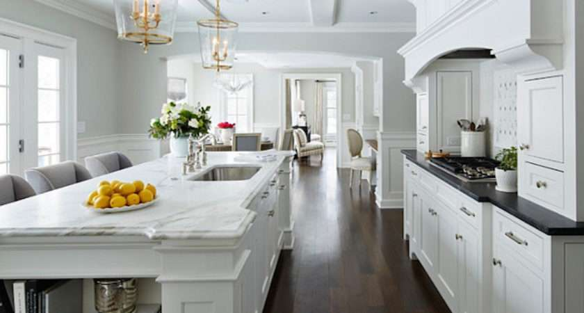 White Kitchen Cabinets Countertops Design Ideas