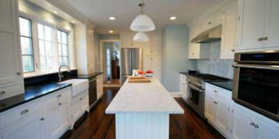 White Kitchen Cabinets Elegant Country Appliances