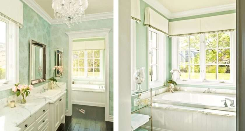 White Light Green Bathroom Ideas Home