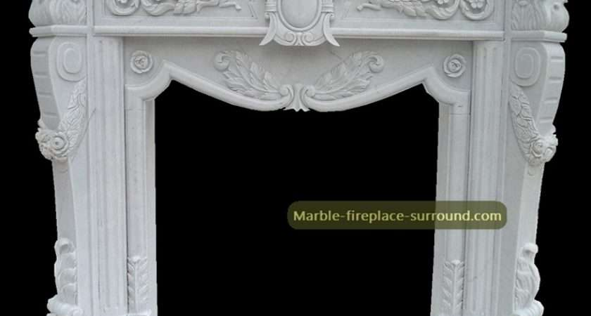 White Marble Fireplace Surround Antique Cheap