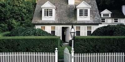White Picket Fences Design Chic