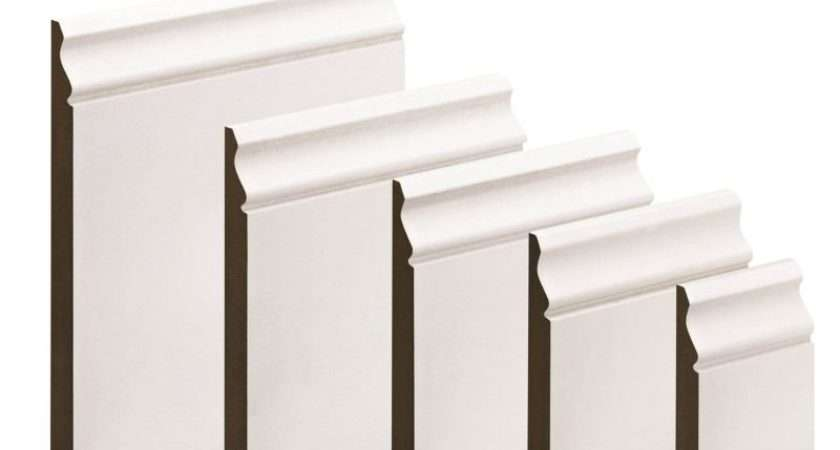 White Primed Ogee Mdf Skirting Customer