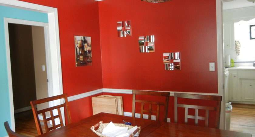 White Red Dining Room Ideas Some Decorating