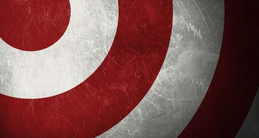 White Red Target Shield Graphic Design