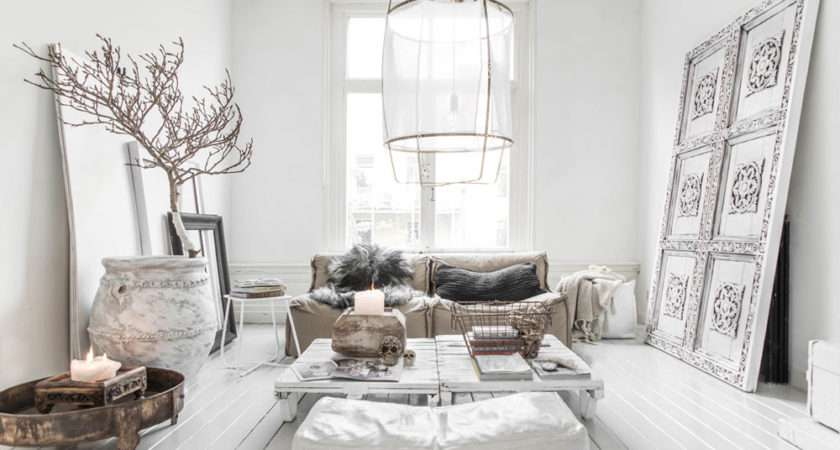 White Room Interiors Design Ideas Color Light