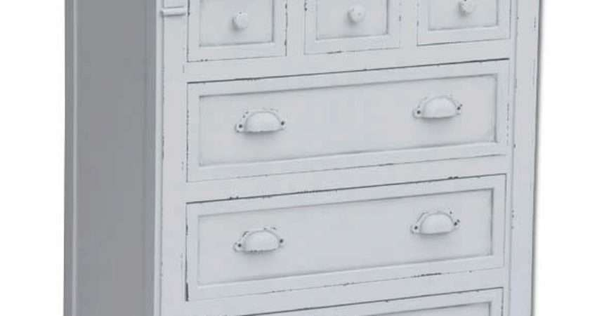 White Shabby Chic Chest Drawers Buydirect