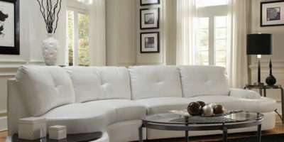 White Sofa Designs Living Room Furniture Contemporary Leather