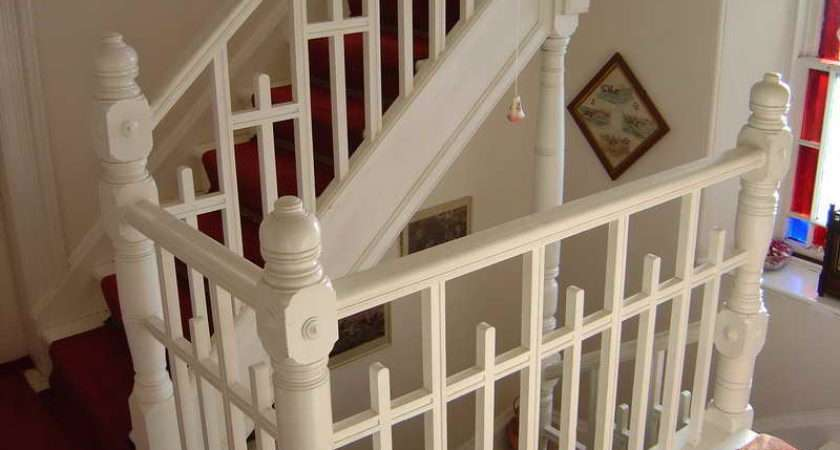 White Victorian Staircase Design Pixels Addams