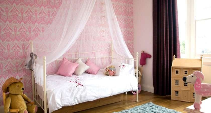 White Wooden Canopy Bed Top Cover Also Curving