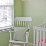 White Wooden Rocking Chair Nursery Thenurseries