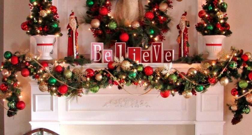Whole Bunch Christmas Mantels Style Estate