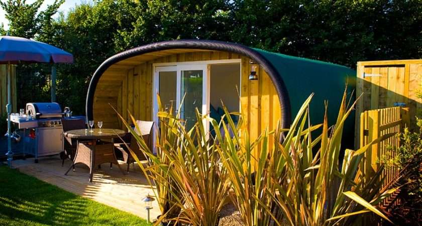 Why Not Glamping Cornwall Year Atlantic Surf Pods