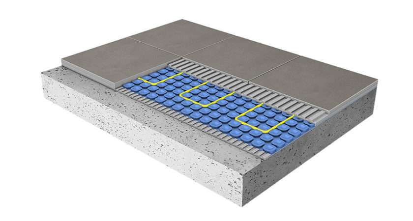 Why Porcel Thin Tiles Perfect Underfloor Heating