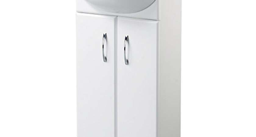Wickes Cloakroom Vanity Unit Gloss White