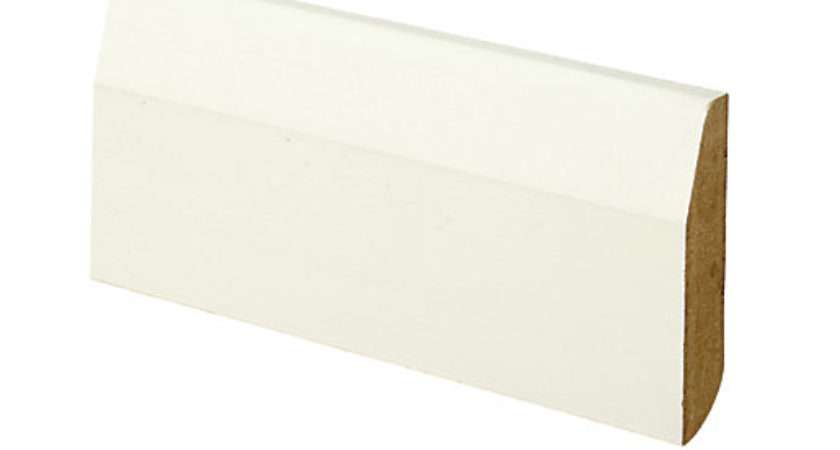 Wickes Dual Purpose Chamfered Bullnose Mdf Skirting