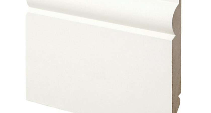 Wickes Dual Purpose Primed Mdf Torus Ogee Skirting