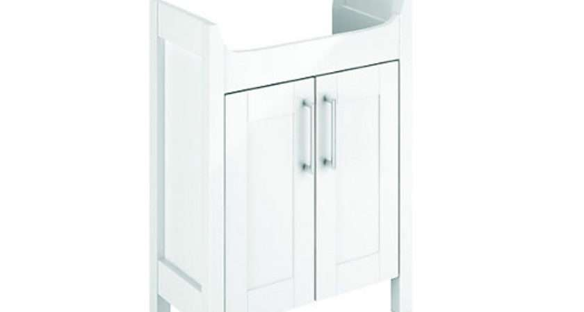 Wickes Frontera Freestanding Vanity Unit White
