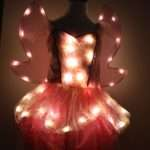 Win Light Girls Costume Out Sight Lights