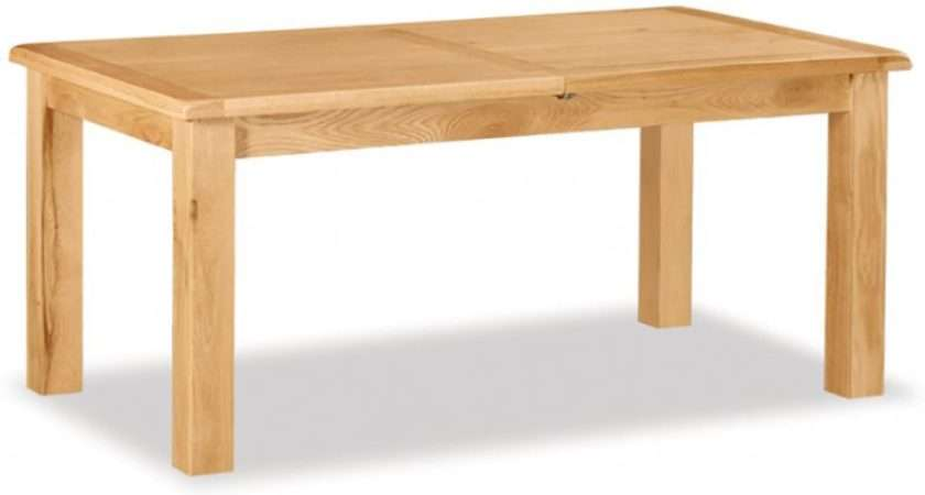 Winchester Oak Large Extending Dining Table Furniture Barn
