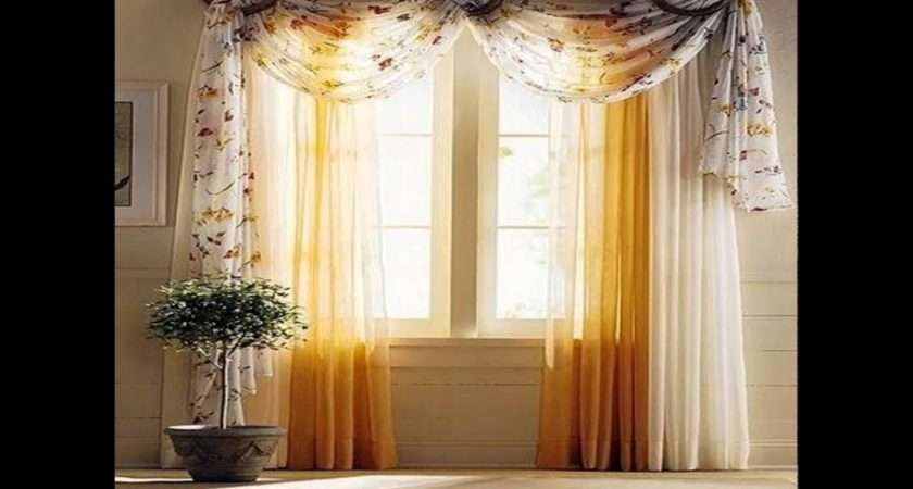 Window Curtains Decorating Ideas Youtube