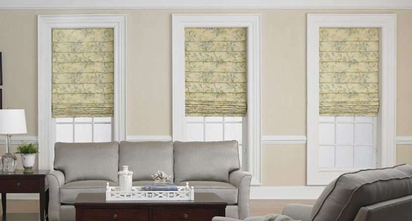 Window Treatments Living Room Day Blinds